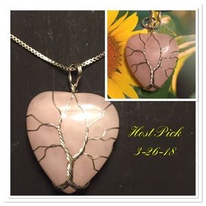 Jewelry - Pink Heart Tree of Life💫New listing 💫